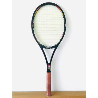 ウィルソン(wilson)の【美品】ウィルソン『プロスタッフ クラシック 85』テニスラケット/台湾製/希少(ラケット)