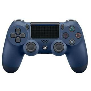 プレイステーション4(PlayStation4)のPS4 DUAL SHOCK4 ミッドナイト・ブルー ワイヤレスコンローラー(その他)