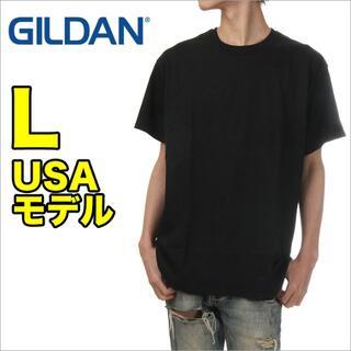 GILDAN - 【新品】ギルダン 半袖 Tシャツ L 黒 無地 メンズ 大きいサイズ