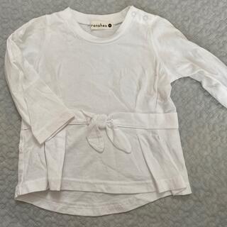 ブランシェス(Branshes)の長袖Tシャツ(シャツ/カットソー)