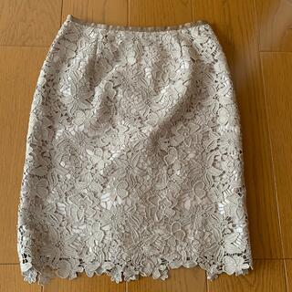 Apuweiser-riche - 美品アプワイザレースタイトスカート
