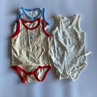 アカチャンホンポ(アカチャンホンポ)の肌着 3枚セット ロンパース 赤ちゃん本舗 西松屋(肌着/下着)