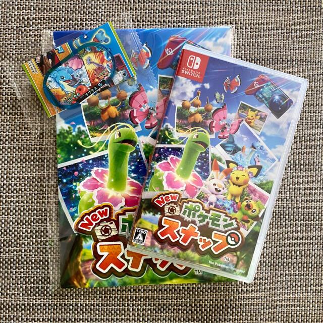 Nintendo Switch(ニンテンドースイッチ)のさら様専用 24時間以内発送 Newポケモンスナップ 1回使用の美品 特典付き エンタメ/ホビーのゲームソフト/ゲーム機本体(家庭用ゲームソフト)の商品写真