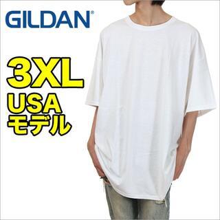 GILDAN - 【新品】ギルダン Tシャツ 3XL 白 半袖 無地 大きいサイズ