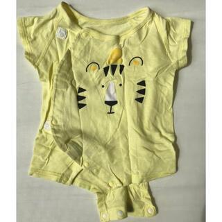 アカチャンホンポ(アカチャンホンポ)のベビー服 ロンパース トラ柄 60cm(ロンパース)
