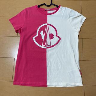 モンクレール(MONCLER)の正規品 モンクレール  Tシャツ 日本未発売  ロゴT(Tシャツ(半袖/袖なし))