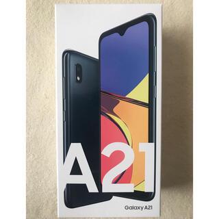 Galaxy - Galaxy A21 ブラック