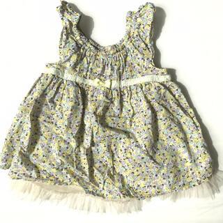 キッズズー(kid's zoo)の⭐︎美品⭐︎ ベビー服 kid's zoo ワンピース 80cm(ワンピース)