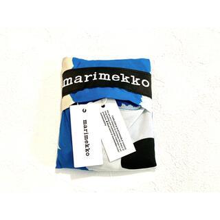 marimekko - 新作 Unikko スマートバッグ ブルー×ホワイト