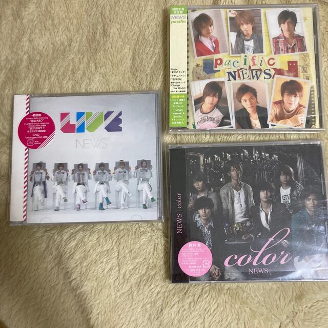 NEWS(ニュース)のNEWS アルバムCD 初回盤 エンタメ/ホビーのタレントグッズ(アイドルグッズ)の商品写真