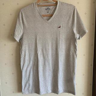Hollister - 美品 ホリスター 半袖 Tシャツ Vネック カモメロゴ