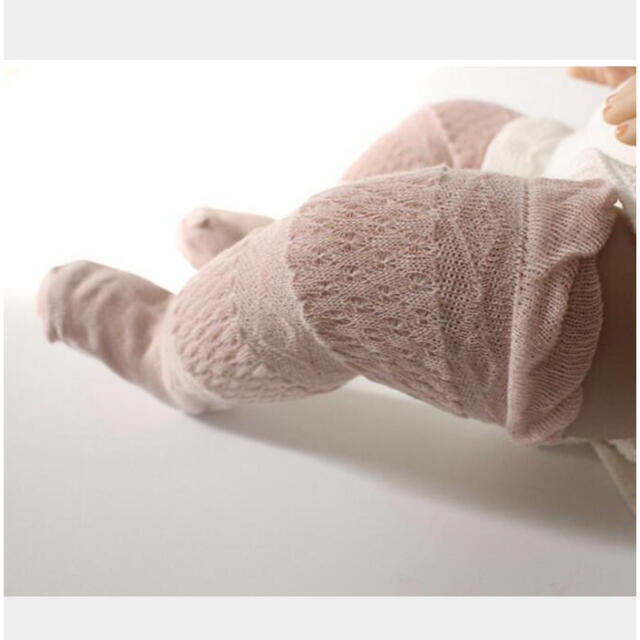 ベビーハイソックス 赤ちゃん靴下 キッズ/ベビー/マタニティのこども用ファッション小物(靴下/タイツ)の商品写真