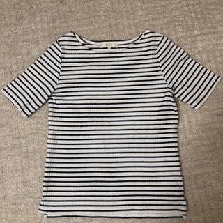 グローブ(grove)のリブカットソー(Tシャツ/カットソー(半袖/袖なし))