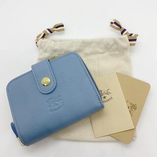 IL BISONTE - 【新品未使用】イルビゾンテ 二つ折り財布 AVIO アヴィオブルー