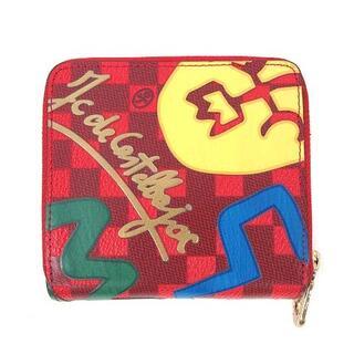 カステルバジャック(CASTELBAJAC)のカステルバジャック CASTELBAJAC 財布 二つ折り ウォレット 赤(折り財布)