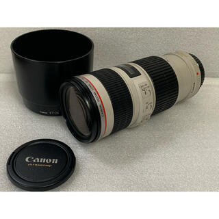 Canon - Canon EF70-200mm F4L IS USM 美品