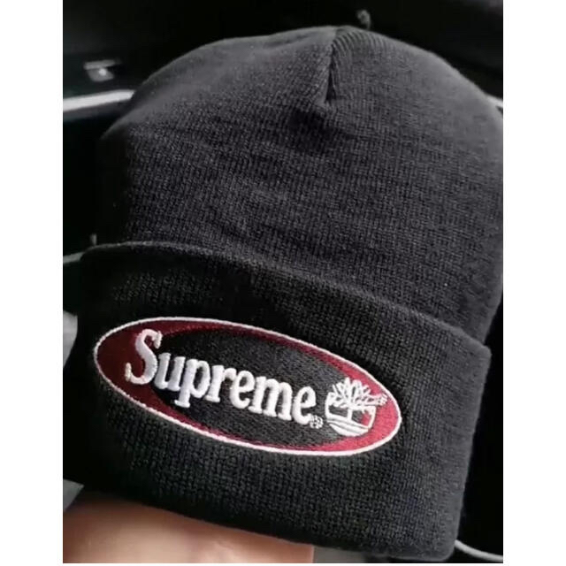 Supreme(シュプリーム)のSupreme  Timberland Beanie 黒 ニットキャップ メンズの帽子(ニット帽/ビーニー)の商品写真