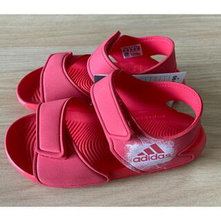 アディダス(adidas)の【新品未使用】アディダスキッズサンダル 19㎝(サンダル)