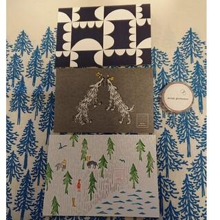 ミナペルホネン(mina perhonen)のミナペルホネン ポストカード wolf&flower 他 マスキングテープ (写真/ポストカード)