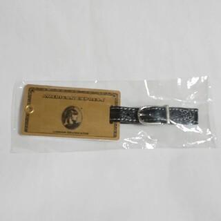 アメリカンエキスプレス ゴールドカード ラゲッジタグ ネームダク アメックス(旅行用品)