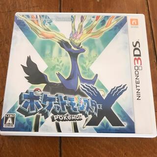 ニンテンドー3DS - 3DS ポケットモンスター X