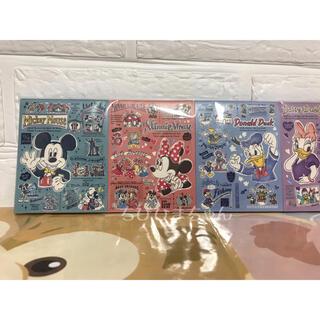 ディズニー(Disney)のディズニーリゾート♥ミッキー ミニー ドナルド デイジー メモセット♥(ノート/メモ帳/ふせん)
