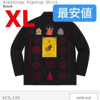 Supreme - Supreme Blessings Ripstop Shirt ブラック