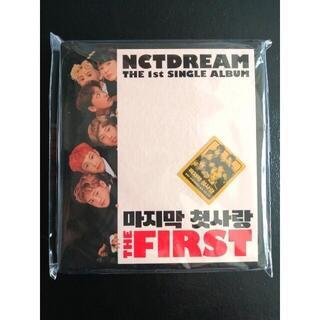 未開封 nct dream アルバム the first 最後1枚