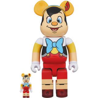 メディコムトイ(MEDICOM TOY)のPINOCCHIO BE@RBRICK 100% 400% ピノキオ(その他)
