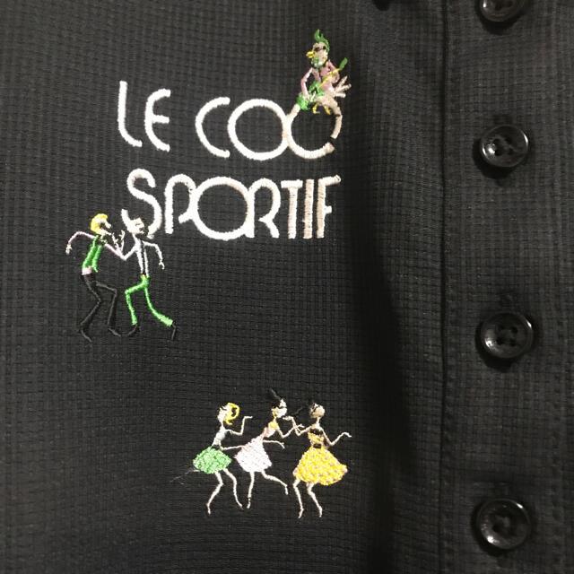 le coq sportif(ルコックスポルティフ)の新品未使用⭐︎【le coq】レディースポロシャツ  スポーツ/アウトドアのゴルフ(ウエア)の商品写真