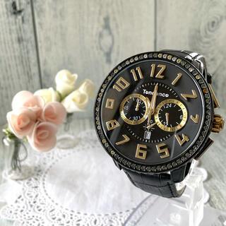テンデンス(Tendence)の【動作OK】Tendence テンデンス ガリバーDX クロノグラフ 腕時計(腕時計(アナログ))