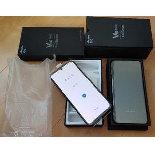 NTTdocomo - SIMフリー LG V60 ThinQ 5G L-51A