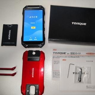 京セラ - TORQUE g04 リフレッシュ品 未使用 ブラック おまけ SIMロック解除