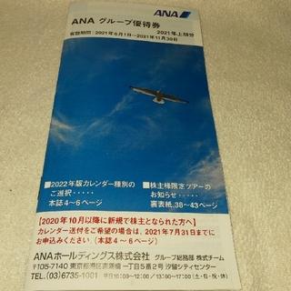 エーエヌエー(ゼンニッポンクウユ)(ANA(全日本空輸))のANA 株主優待冊子 2021.6.1~2021.11.30(その他)