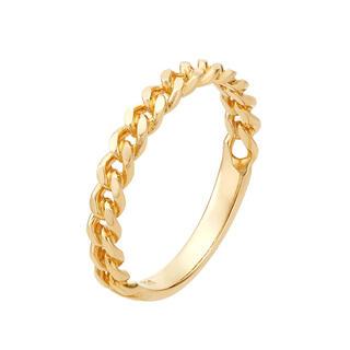 ジュエリーツツミ(JEWELRY TSUTSUMI)のTSUTSUMI K18イエローゴールドリング(リング(指輪))