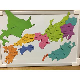 日本地図マグネット 地理 新品(知育玩具)