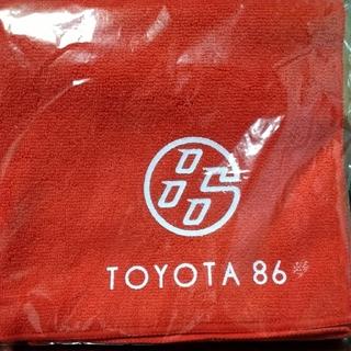 トヨタ(トヨタ)のTOYOTA 86 マイクロファイバータオル / ハチロク 非売品 グッズ(タオル/バス用品)