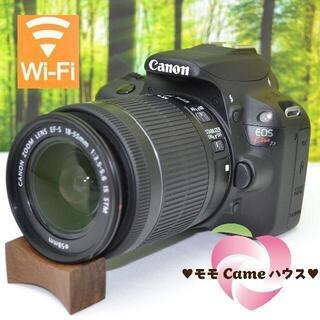 Canon - キヤノン Kiss X7☆新型レンズセット♪スマホに転送OK♪1638