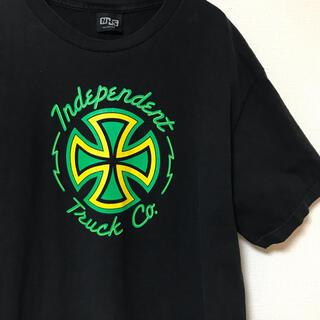Supreme - INDEPENDENT インデペンデント 90s Tシャツ NHSボディ ラスタ