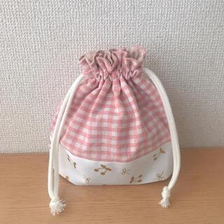 コップ入れ★コップ袋★ミニ巾着(ランチボックス巾着)