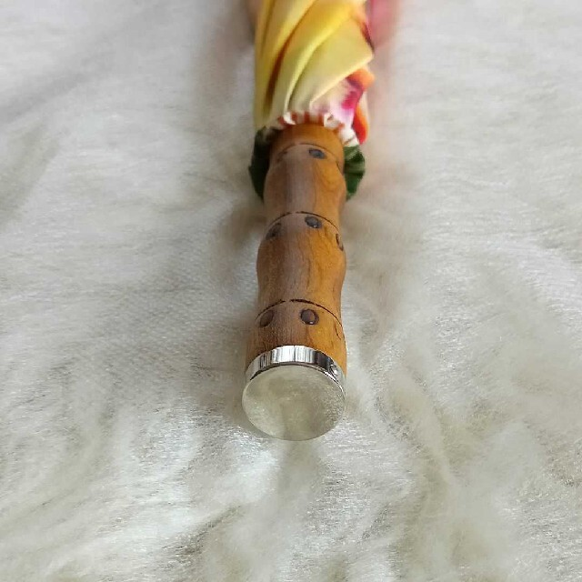 Vivienne Westwood(ヴィヴィアンウエストウッド)のVivienneWestwood クリーピーベア一枚張り雨傘⭐タグ付き未使用⭐ レディースのファッション小物(傘)の商品写真