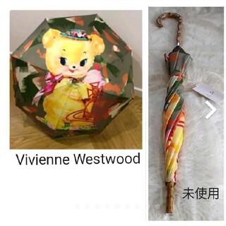 Vivienne Westwood - VivienneWestwood クリーピーベア一枚張り雨傘⭐タグ付き未使用⭐