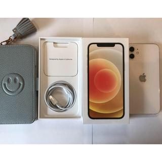 iPhone - iPhone 12 256G ホワイト 本体 4月28日購入 ケースおまけ