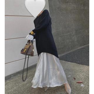 アメリヴィンテージ(Ameri VINTAGE)のUndressed mermaid tight knit dress (ロングワンピース/マキシワンピース)