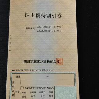 ジェイアール(JR)のJR東日本 株主優待券 2枚 2021年5月31日まで(その他)