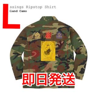 Supreme - Supreme Blessings Ripstop Shirt Camo L