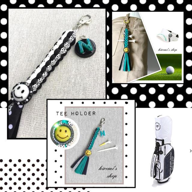 DESCENTE(デサント)の【NNN様】ゴルフティーホルダー スカート パンツ カートバッグ ベルト に スポーツ/アウトドアのゴルフ(ウエア)の商品写真