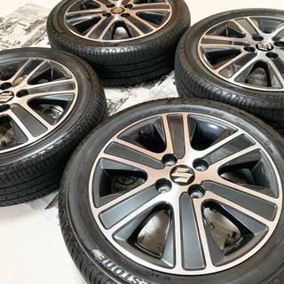 スズキ - 【美品】スズキ ワゴンR スティングレー 純正 ホイール タイヤ 4本15インチ
