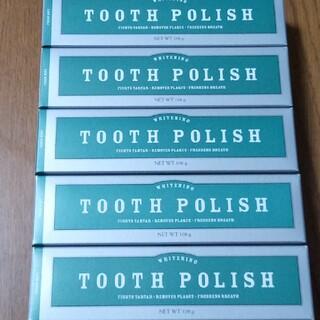 メラルーカ 歯磨き粉 トゥースポリッシュ 5本✨(歯磨き粉)