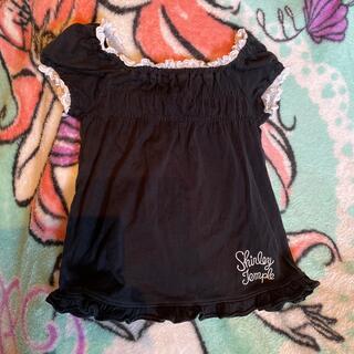 シャーリーテンプル(Shirley Temple)のシャーリーテンプル 110 黒Tシャツ(Tシャツ/カットソー)